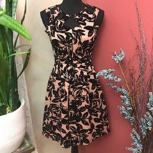 SO Sweet - Velvet Semi Formal Dress